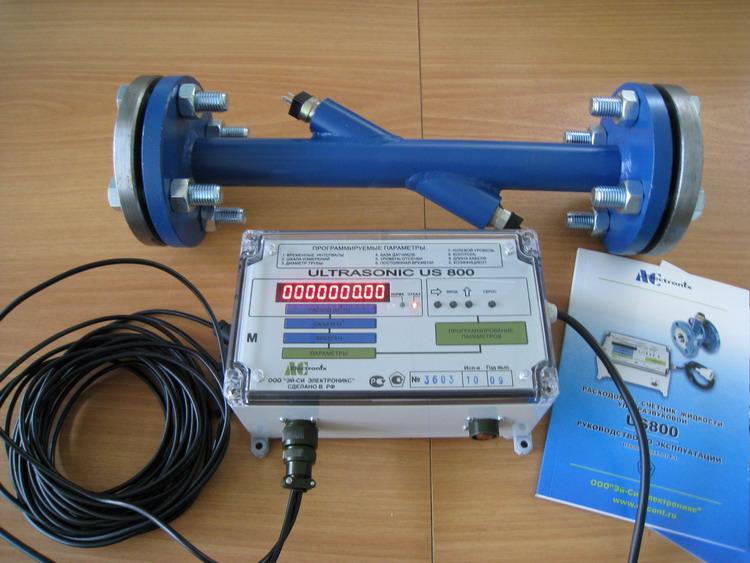 Ультразвуковой расходомер US 800-М-10-040-G-025-Р (вода)